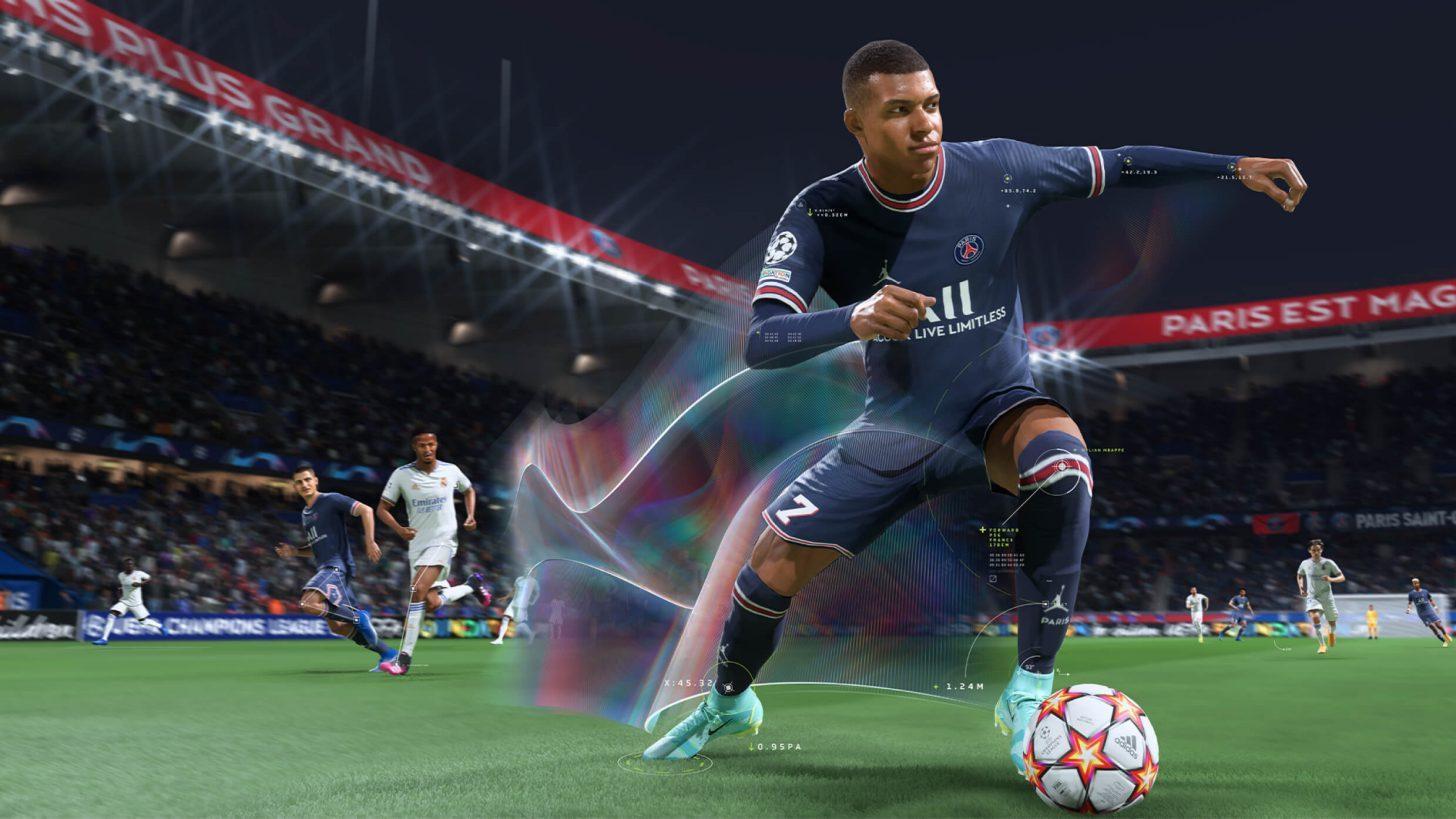 Kylian Mbappé en la seva versió virtual