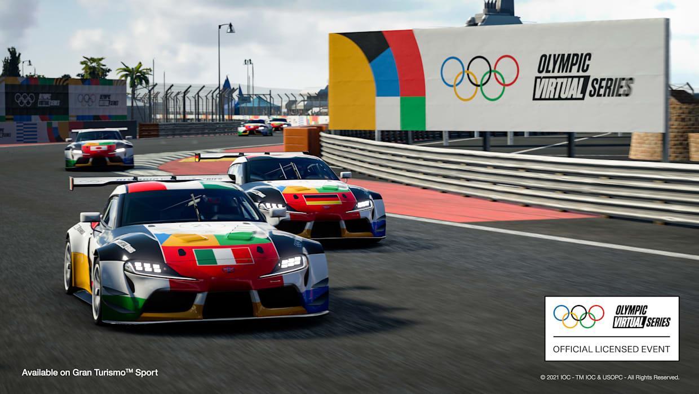 El GT va formar part dels Jocs Olímpics d'e-sports