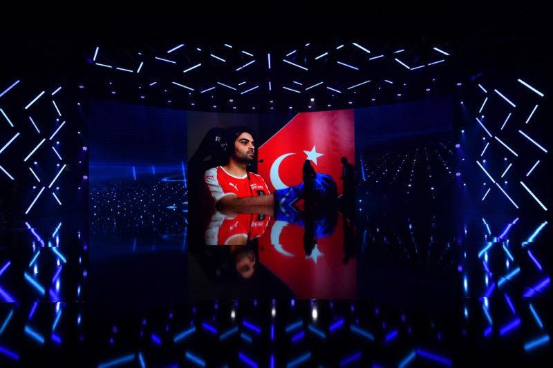 El representant de Turquia a punt per entrar en acció