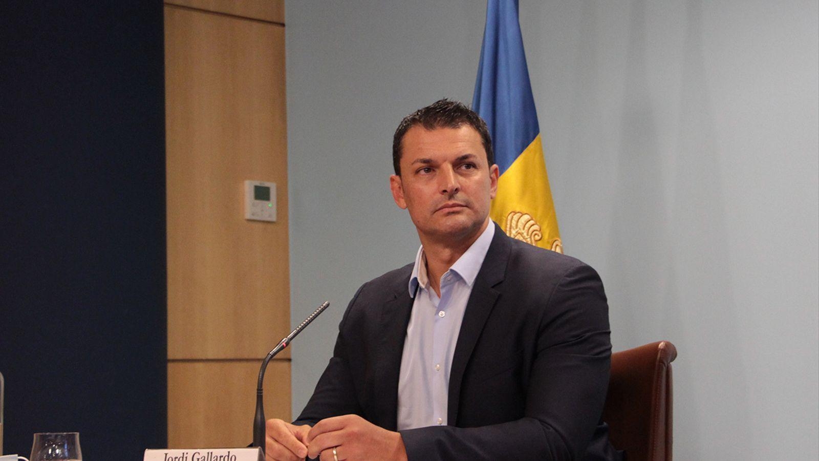 Jordi Gallardo, Ministre de Presidència, Economia i Empresa Govern d'Andorra