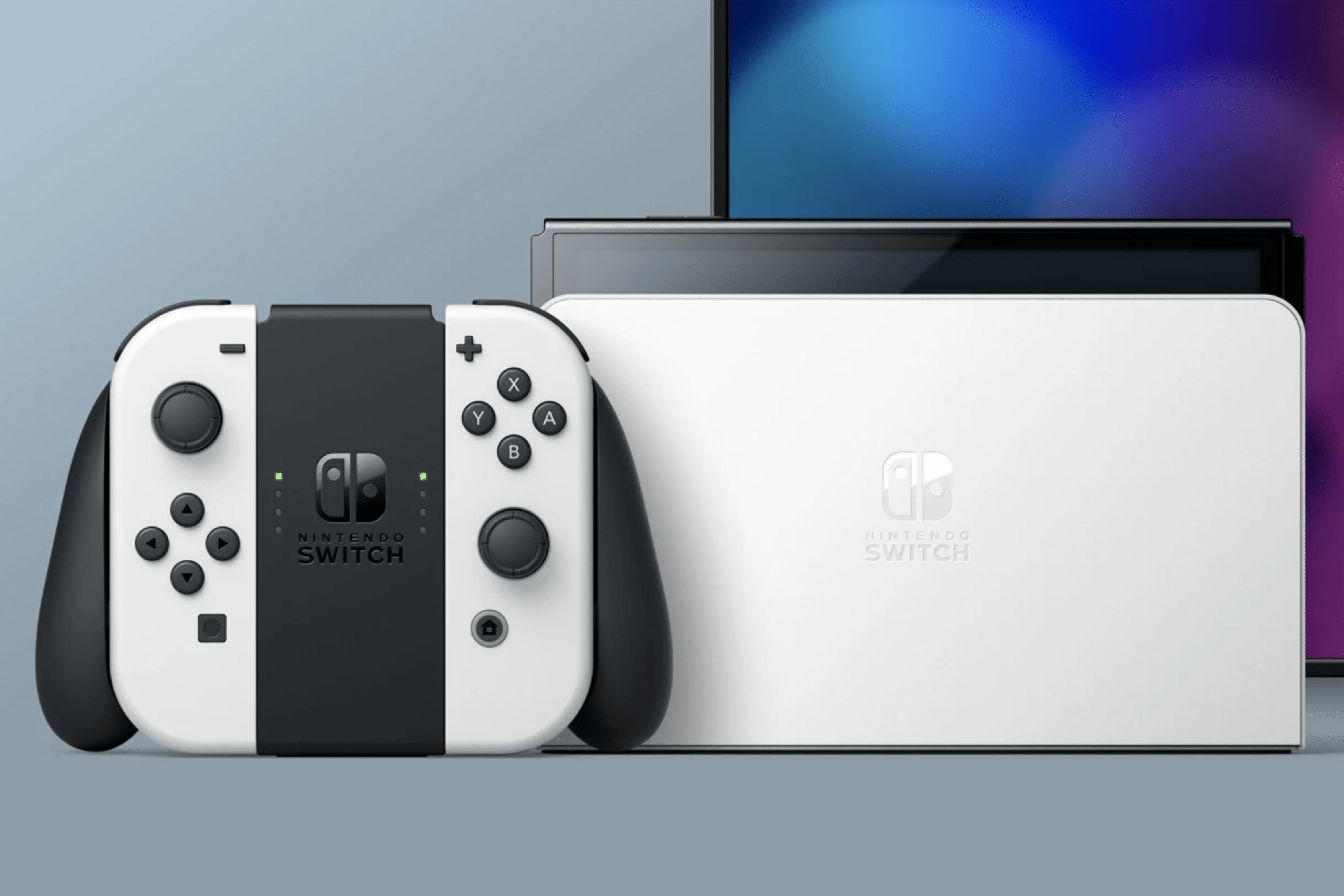La nova versió de la Nintendo Switch (model OLED). / Nintendo
