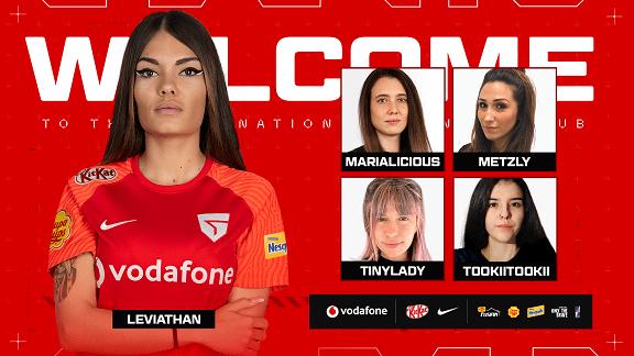 Roster Vodafone Giants