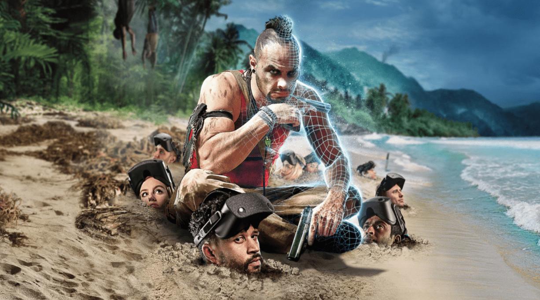 Imatge promocional de Far Cry 6 a Zero Latency Andorra.